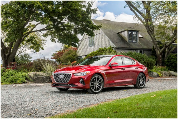 In-Car Luxury Achieved by the 2020 Genesis G70 Models
